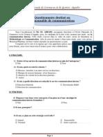 Questionnaire Responsable
