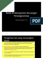 03 Banjir Manajemen Keruangan Penanganannya Copy