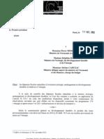 RF 65241 dépenses fiscales mission écologie