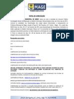 EDITAL DE CONVOCAÇÃO -  07-02-2013