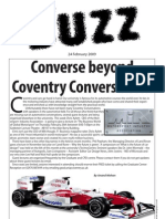 The Buzz Newsletter 24th February 2009 Coventry University