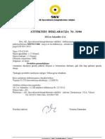 Beton_Atitikties Deklaracija Mitto C600