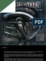 HR Giger - Alien Filmdesign