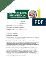 TRABAJO 2 FISICA II Ley de Los Gases Boyle y Lusacs