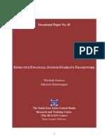Effective Financial Statement Frameworks