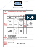 Analisi n 12 v2 Calcio Magnesio