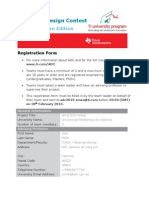 Adc2013 Registration Form