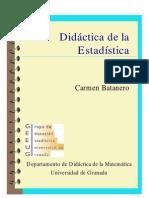 Didáctica de la Estadística - Carmen Batanero