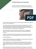 Selecting the Optimal Programas de Inventarios Package.20130228.125211