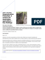Soil Carbon Sequestration Potential_ a Review for Australian Agriculture - Key Findings