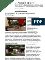 Dr. Falk Köhler kauft neues Firmengebäude - Außergewöhnliches PR-Agentur-Ambiente
