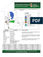 Semana Epidemiológica 51/2011, de sistema de vigilancia de Sanidad Animal; Santa Cruz, Bolivia