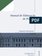 caderno técnico - manual de elaboração de projetos