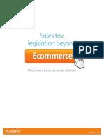 Sales Tax Legislation Beyond Ecommerce