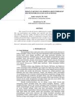 Ksiaa-05 Analisis Beberapa Faktor Yang Berpengaruh Thp an Sistem
