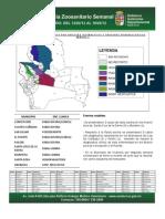Semana Epidemiológica 7/2012, de sistema de vigilancia de Sanidad Animal; Santa Cruz, Bolivia