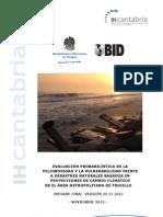 Evaluación probabilística de la peligrosidad y la vulnerabilidad frente a desastres naturales basados en proyecciones de cambio climático  en el área metropolitana de Trujillo