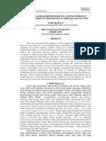 Ksiaa-10 Hubungan Karakteristik Personal Auditor Terhadap Tingkat Penerimaan Penyimpangan Perilak