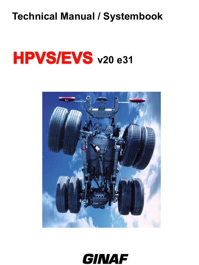 Systeemboek Hpvs Evs V20mx Engelsv2 Klein Suspension Vehicle Sticker Kode D7 Piston