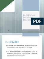 LA PERSONA, UN SER DE RELACIONES.pptx