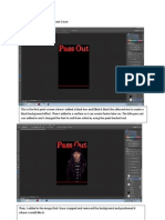 Stages of Development for Front Cover
