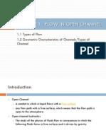 Slides 1 Flow in Open Channel_2