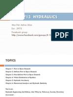Syllabus Hydraulic
