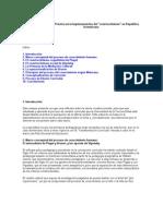 Teoría y Práctica en la implementación del
