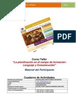 Cuadernillo Del Participante Lencuaje y Comunicacion