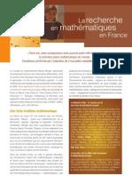 Rech Maths Fr