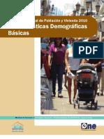 Censo 2010 Vol 3_Características Demográficas Básicas