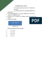 Extra Maths Term 2