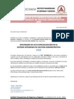 Diplomado Siga - Lima 23 Marzo