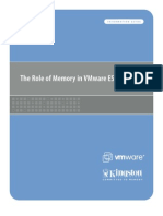 The Role of Memory in VMWare ESX Server 3