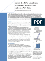 Tech Note Demonstration of a Cq Calculation Method Using Solaris Qpcr Assays