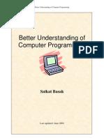 Better Understanding of Computer Programming