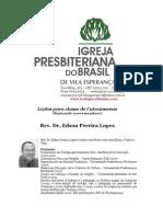 3521347 Licoes Para Classes de Catecumenos Ensinando Novos Membros Rev Dr Edson Lopes