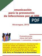 Comunicar Para Prevenir 2012