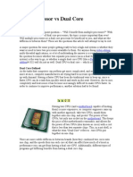 Dual Processor vs Dual Core