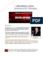 EXCLUSION + EXCLUSION by FEMA Serino and University of WI - Milwaukee