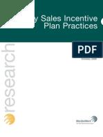 Key Sales Incentive Plan Practices