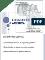 LOS NEGROS EN AMÉRICA