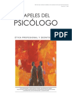 Etica Del Psicologo