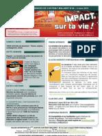 Bulletin d'annonces N°48 semaine du 2 mars 2013