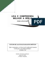 Pedro Apolinário - Compreenda Melhor a Bíblia