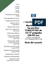 Manual Monitor HP