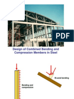 _design of Beam Columns