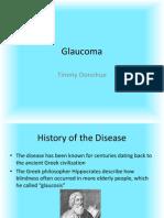 Donohue Timothy 11100338 Glaucoma Presentation