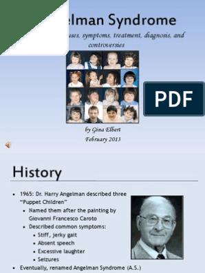 Elbert Gina 11100343 Angelman Syndrome | Clinical Medicine