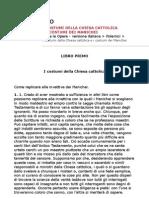 Sant'Agostino - I Costumi Della Chiesa Cattolica e i Costumi Dei Manichei (ITA)